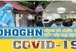 ĐHQGHN cùng cả nước chung tay đẩy lùi đại dịch Covid-19