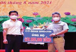 25 Giảng viên và sinh viên Trường Đại học Y Dược, ĐHQGHN vào chi viện Miền Nam chống dịch COVID - 19